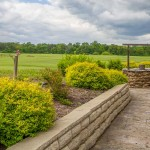 Honker Hill Vineyards and winery gardens